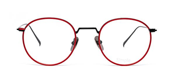 Korova rouge et noir - face