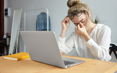Augmentation de la sécheresse oculaire à cause du télétravail?